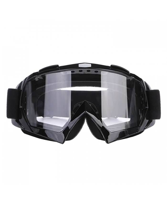 BRAUTO Motocycle ATV DirtBike Off Road Racing Goggles for Outdoors Cycling, Climbing, Riding and Other Activities Black